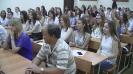 Acto académico solemne: la entrega de las tarjetas de estudiantes y libretas de nota 01.09.2016